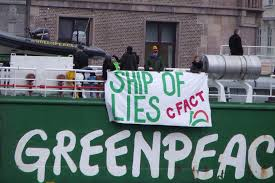 Norway arrests 35 Greenpeace activists