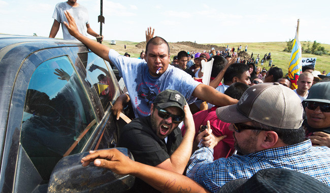 DAPL Dogs AttackProtesters?