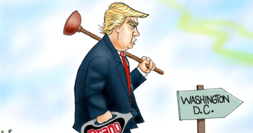Environmentalists oppose President Trump's swampdrain