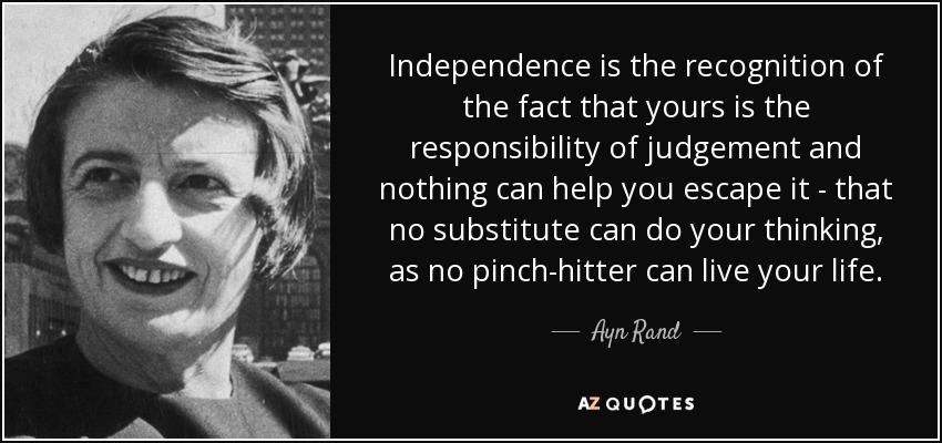 Shame on the Ayn RandInstitute