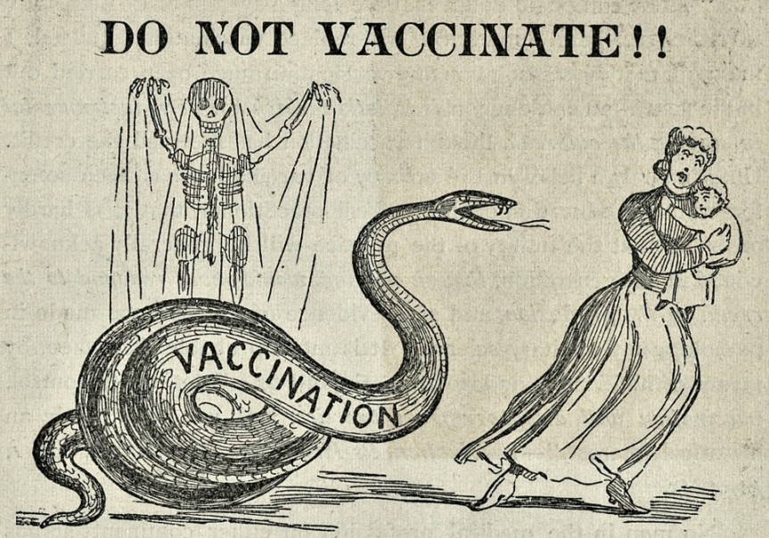 #COVID-19 Vaccine Search Revives Interest in Anti-Vaccine Conspiracy Theories