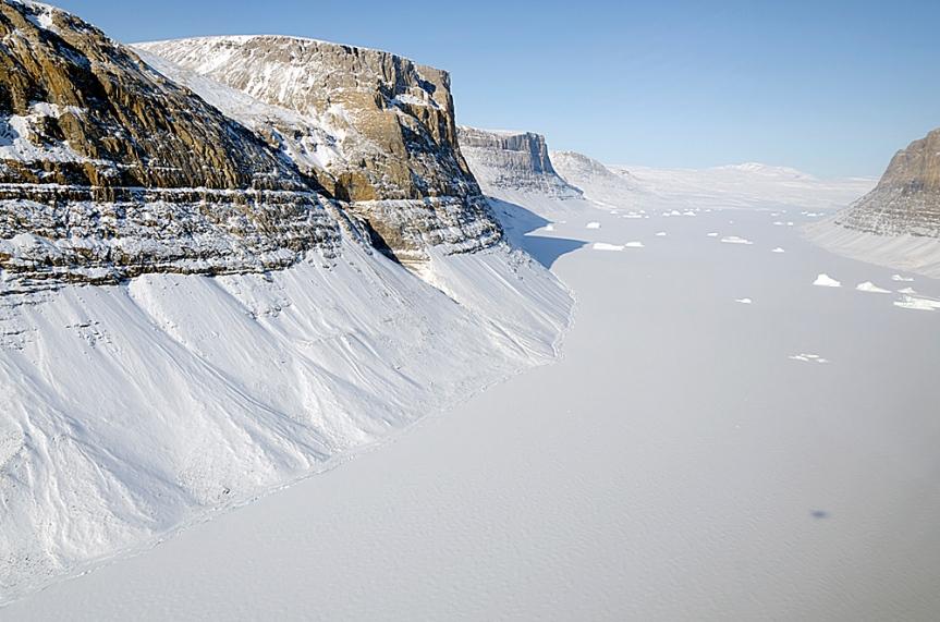 Rapidly Growing Glacier Ended HisSkepticism
