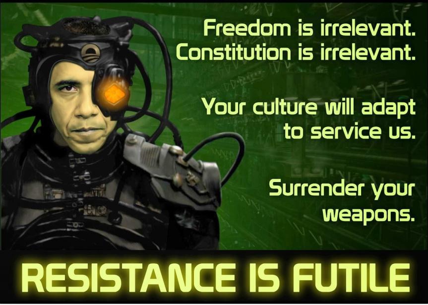 Resistance is Futile