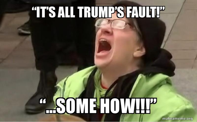 CONFIRMED: It's All Trump'sFault